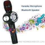 Microfone de Karaoke portátil sem fio Duet cantando coro alto-falante Bluetooth
