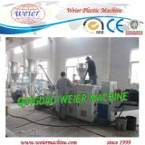 PVC Hot Cutting Pelletizing Production Line mit Conical Double Screw Extruder