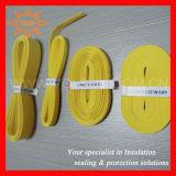 인쇄할 수 있는 노란 케이블 마커 소매
