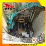 機械を持ち上げる小さい鉄道トンネルの管