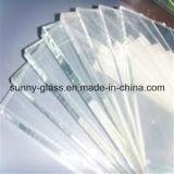 vidrio ultra claro de 1-12m m para el edificio