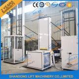 hydraulischer im Freien Rollstuhl-vertikaler Aufzug der Aluminiumlegierung-250kg