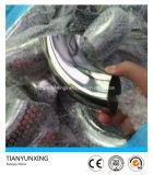 Encaixe sanitário Polished do aço inoxidável do T 304 do cotovelo
