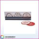 Práctico de costa de papel absorbente de la cerveza y regalo promocional de la estera del café (xc-8-20)