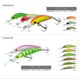 Hard Plastic Multi Jointed Minnow Fishing Lure