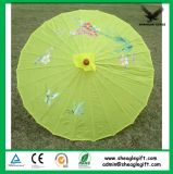 Logotipo personalizado promocional guarda-chuva de bambu de impressão