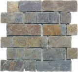 Broken Selvage mosaico de pedra, a China de ladrilhos, mosaicos de mármore artística