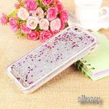 Bling estrellas Glitter Teléfono líquido caso para el iPhone 6