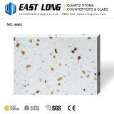 Дешевый весь сверкная кварц Stone&#160 большого зерна белый искусственний; Слябы