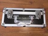 Алюминиевый пустой футляр для хранения с тонкими накладку из пеноматериала