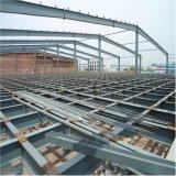 Taller grande prefabricado de la estructura de acero con bajo costo