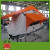 3-4人の旅行のための柔らかい屋根の上のテント