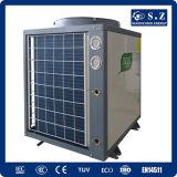 Aquecimento Central Save70% Electric Cop4.23 R410A 12kw, 19kw, 35kw, 70kw, 105kw 380voutlet 60deg. C Dhw calefator de bomba de calor multifunções