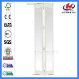 Doppelte ausgeglichene Bifold Innentüren mit Glas