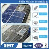 Pitch toit de tuile solaire Système d'accueil