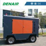 Compresor de aire portable a diesel de un solo cuerpo de 950 Cfm