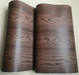 Meubles film vinyle Woodgrain décoratifs en aluminium