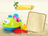 Position fraîche de revue de sable de Sandpit Brookstone des enfants de jouets pour des gosses