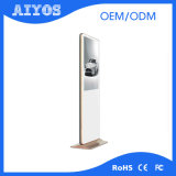 Fußboden, der LCDdigital Signage, vertikale bekanntmachende Bildschirmanzeige steht