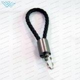 L'iPhone/Android/Mrico/Type-C Trousseau Téléphone USB2.0 Câble PG le tissage de charge (charge+le transfert de données+ trousseau)