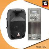 15 Spreker pS-2815au van de FM van de duim USB BR de Plastic Actieve 200W
