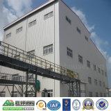 モジュラー軽い鉄骨構造の倉庫の建物