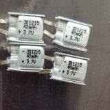 Литиевая полимерная батарея 40Ма 3,7В 301215 для продажи