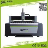 máquina de corte láser de fibra de cobre cortando en venta