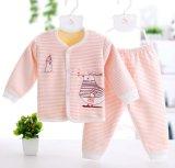 Neue Form scherzt Kleid-lange Hülsen-Klage-Kind-Kleidung-Baby-Unterwäsche
