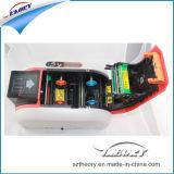 Buena calidad individual / doble cara impresora de tarjetas de PVC