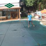 最もよい網の屋内プールの安全カバー