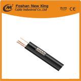 Cable coaxial Rg59 del alto rendimiento con el cable de transmisión