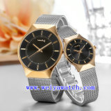 Fashion Watch personnaliser occasionnel de montres (WY-015GD)