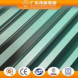 Weiye 미끄러지는 Windows를 위한 Aluminio 각종 색깔 알루미늄 또는 알루미늄 또는 단면도