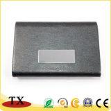 Portatarjetas conocido del hierro inoxidable Cardcase con insignia de encargo