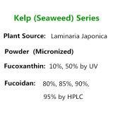 Polysaccharides d'extrait de Laminaria d'extrait de varech 85% Fucoxanthin 10%