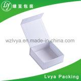 Pendientes de papel/rectángulo de joyería de empaquetado del regalo del rectángulo del anillo del terciopelo/de las telas/de la pulsera