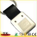 Het uitstekende kwaliteit Aangepaste Leer Keychain van Keychain Pu van het Embleem van de Auto