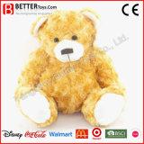 Urso macio da peluche do animal enchido do brinquedo do luxuoso do afago dos miúdos