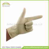 Het steriele Beschikbare Medische Latex poederde Chirurgische Handschoen