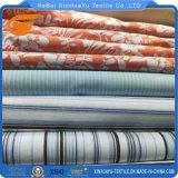 ポリエステルおよび綿は寝具セットのホーム織布のためのあや織りファブリックを印刷した