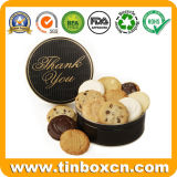 Metallrunde Verpacken- der Lebensmittelkasten-Mrs Higgins Biscuit Cookies Tin