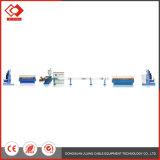 Linha de produtos dobro automática da extrusora da máquina do cabo da linha central