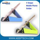 Universal v Support de téléphone mobile de forme de tablette escamotable Support pour téléphone