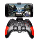 2018 Android Gamepad Joystick Gamepad controlador Bluetooth con clip para el iPhone Andriod teléfono inteligente para PC