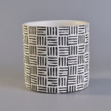 Grabar los sostenedores de vela de cerámica de la impresión del modelo