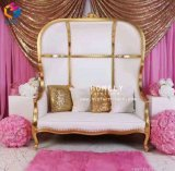queen Foshan 가정 가구 도매 임금 두 배 시트 왕위 결혼식 의자