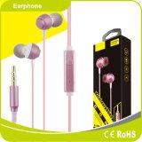 2018 haut de gamme dans l'oreille des écouteurs stéréo joli mini-écouteurs