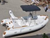 Liya 19FTの肋骨のディンギーのボートの膨脹可能ないかだの膨脹可能なポンツーンのボート