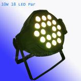 10W 18 het LEIDENE RGBW Licht van het PARI